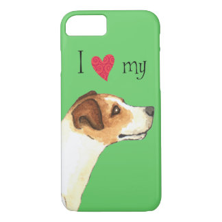 I Love my Jack Russell Terrier iPhone 8/7 Case