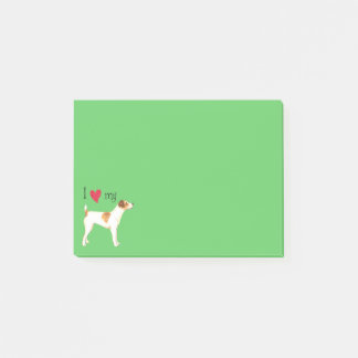 I Love my Jack Russell Terrier Post-it Notes