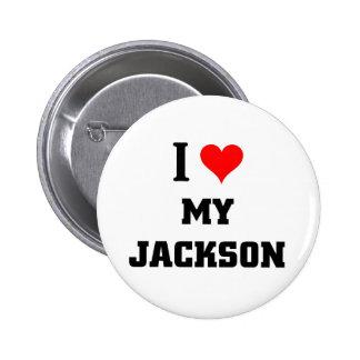 I love my Jackson 2 Inch Round Button