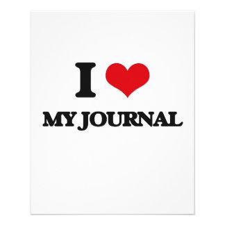 I Love My Journal Flyer