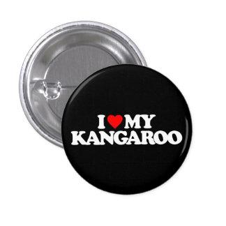I LOVE MY KANGAROO BUTTON