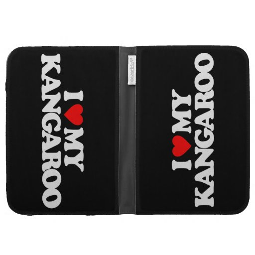 I LOVE MY KANGAROO KINDLE 3G COVERS
