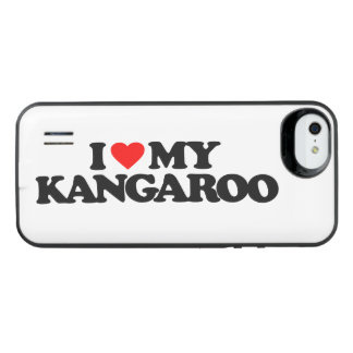 I LOVE MY KANGAROO UNCOMMON POWER GALLERY™ iPhone 5 BATTERY CASE