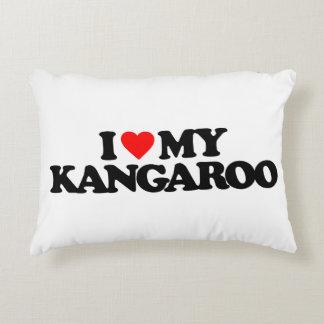 I LOVE MY KANGAROO ACCENT PILLOW