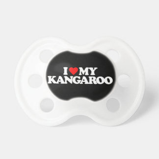 I LOVE MY KANGAROO PACIFIER