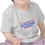 I Love My kickboxing Daddy Tshirts