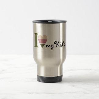 I love my kids merchandise travel mug