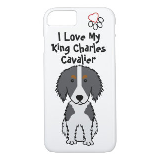 I Love My King Charles Cavalier iPhone 7 Case