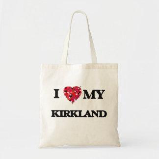 I Love MY Kirkland Budget Tote Bag