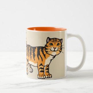 I LOVE my KITTY Fun Cartoon Tabby Coffee Mug