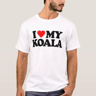I LOVE MY KOALA T-Shirt
