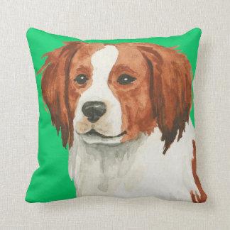 I Love my Kooikerhondje Throw Pillow
