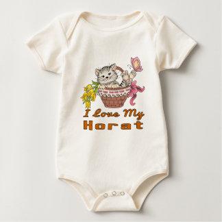 I Love My Korat Baby Bodysuit