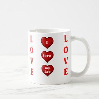 I love my Lab Coffee Mug
