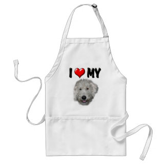 I Love My Labradoodle Apron