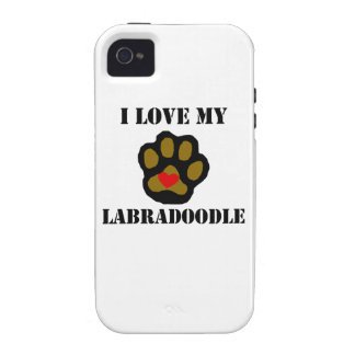 I Love My Labradoodle Case For The iPhone 4