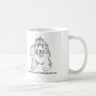 I love my Labradoodle! Classic White Coffee Mug