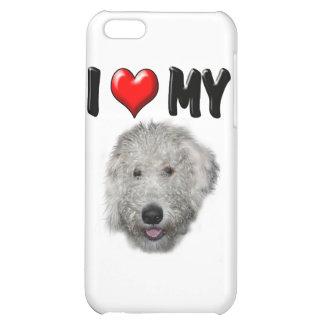 I Love My Labradoodle iPhone 5C Case