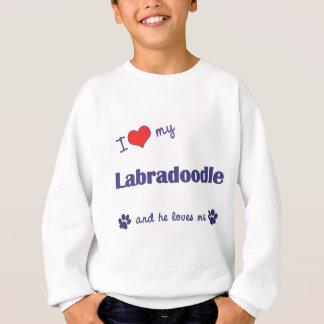 I Love My Labradoodle (Male Dog) Tee Shirts