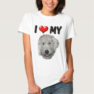 I Love My Labradoodle T Shirts