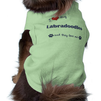 I Love My Labradoodles (Multiple Dogs) Pet Clothing