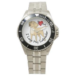 I Love My Labrador Dog Watch
