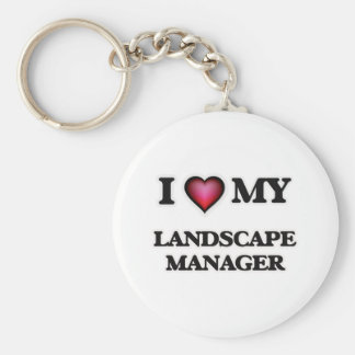 I love my Landscape Manager Basic Round Button Keychain