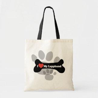 I Love My Lapphund - Dog Bone