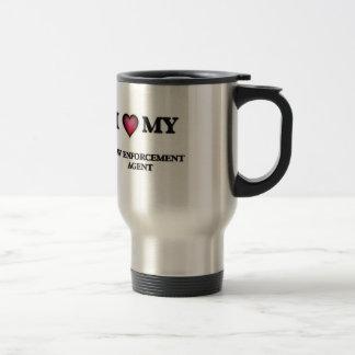I love my Law Enforcement Agent Travel Mug