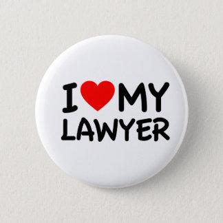 I love my lawyer 2 inch round button