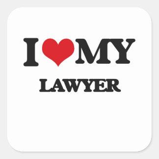I love my Lawyer Sticker