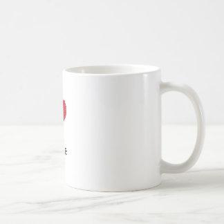 i love my life coffee mug