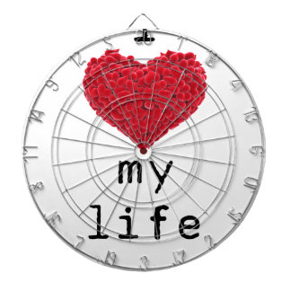i love my life dartboard