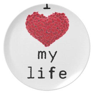 i love my life plate