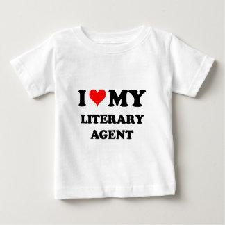 I Love My Literary Agent Baby T-Shirt
