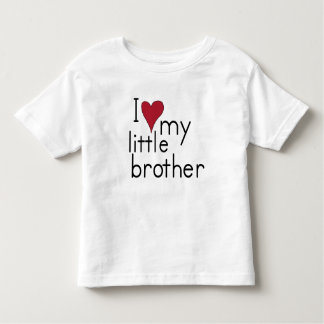 I Love my Little Brother Toddler T-shirt