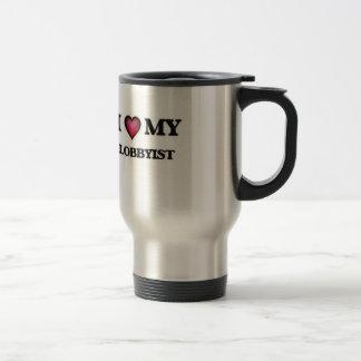I love my Lobbyist Travel Mug