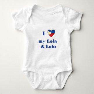 I Love My Lola and Lolo1 Shirt
