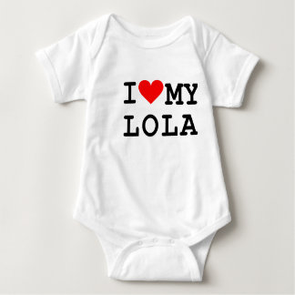 I love my lola baby bodysuit