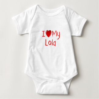 I Love My Lola Infant & Toddler T-Shirt