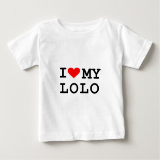 I love my lolo. It's more fun in the Philippines! Baby T-Shirt
