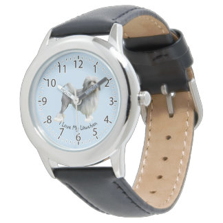 I Love My Lowchen Watch