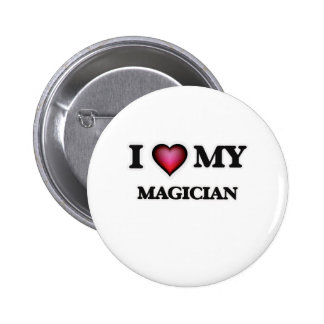 I love my Magician 2 Inch Round Button