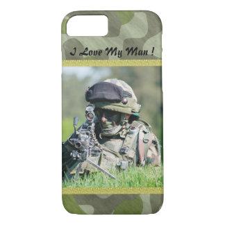 I love My Man iPhone 7 Case