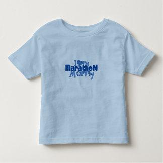 I Love My Marathon Mommy Toddler T-shirt