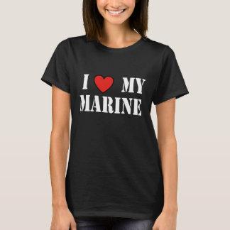 I LOVE MY MARINE BLKT T-Shirt