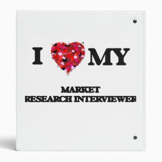I love my Market Research Interviewer Binders