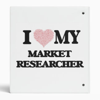 I love my Market Researcher (Heart Made from Words Binders