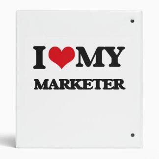 I love my Marketer Vinyl Binders