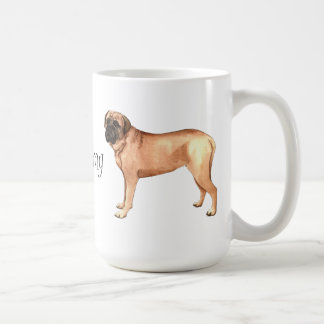 I Love my Mastiff Coffee Mug